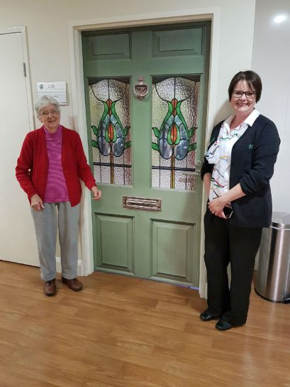 Having fun at TLC Aged Care The Heights with True Doors