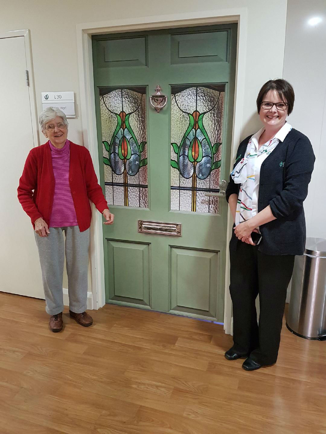 Sue Jones - Having fun at TLC Aged Care The Heights in Donvale, Victoria, Australia