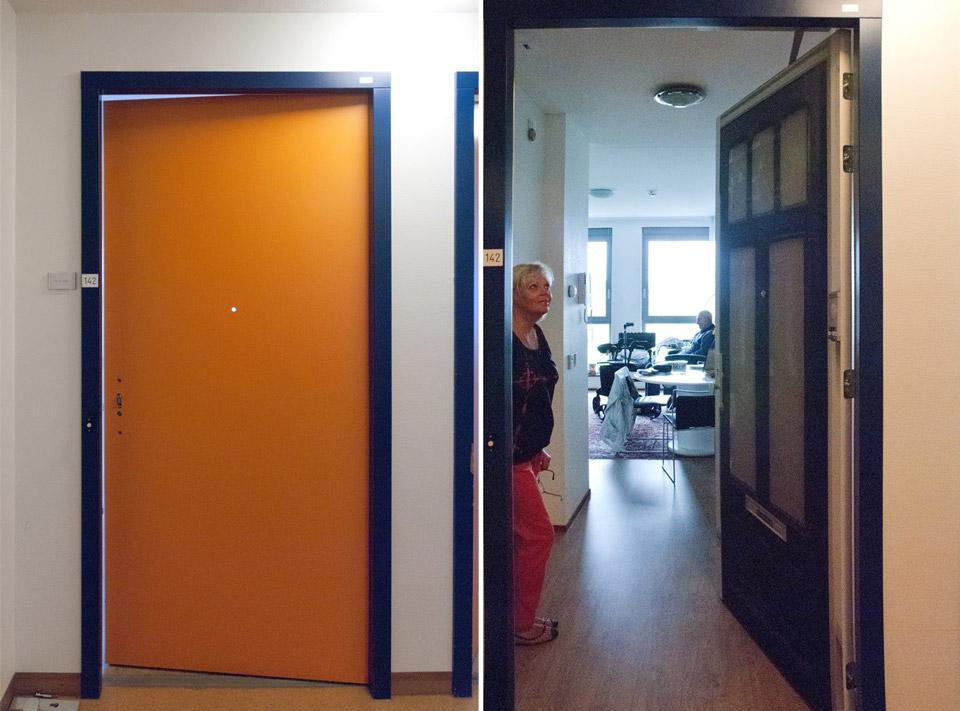 Dhr. Groen: Heeft de True Door 'Above the Shop' uit de collectie gekozen.