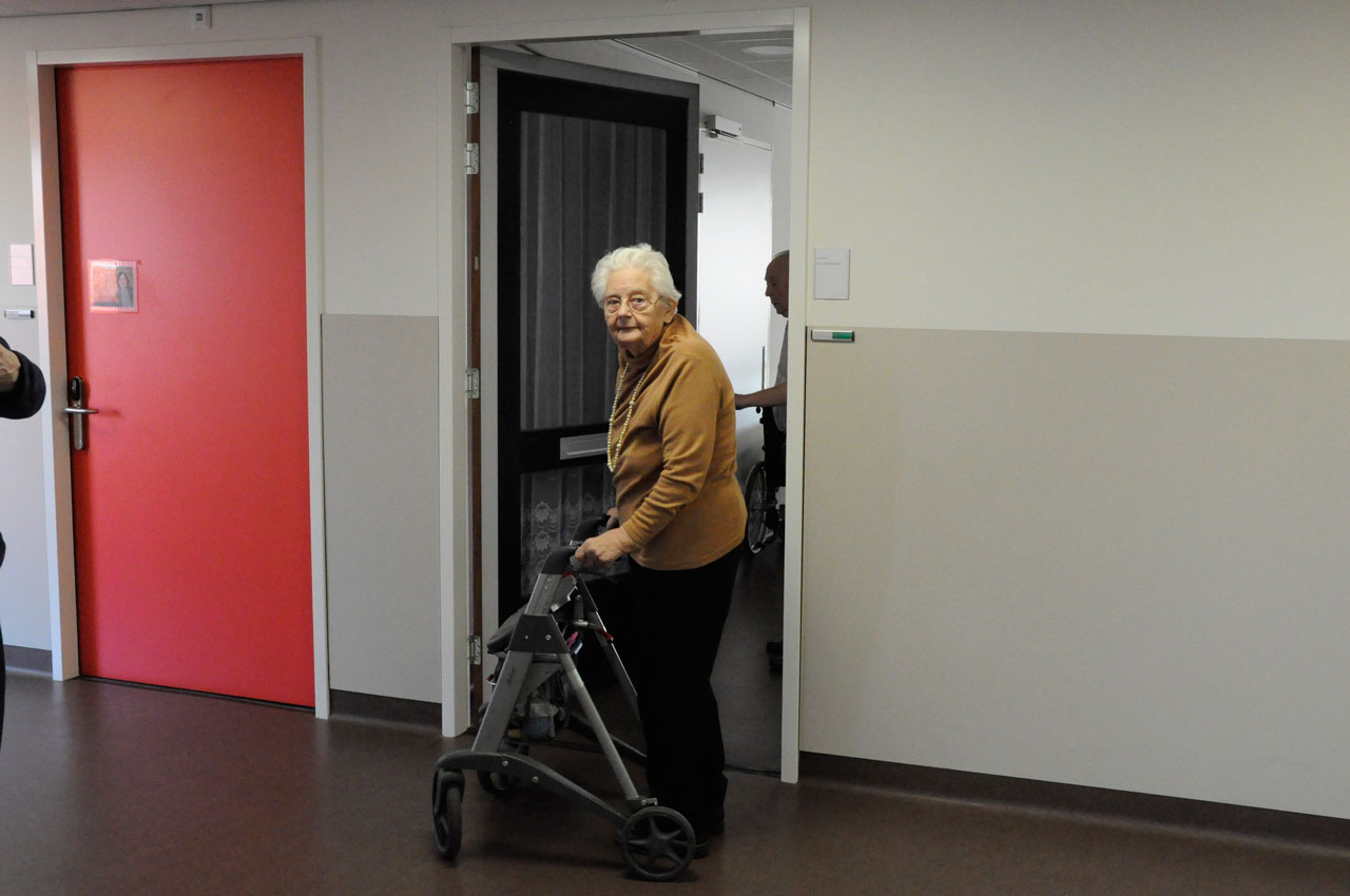 True Doors project at Oosterlengte OldWolde Nursing home in Winschoten Netherlands