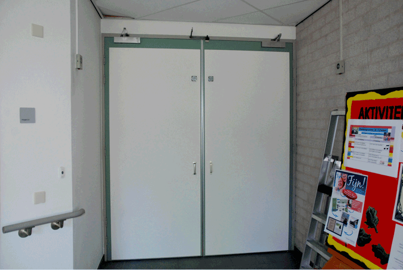 Before the True Doors transformation at De Zorgboog in Helmond, The Netherlands
