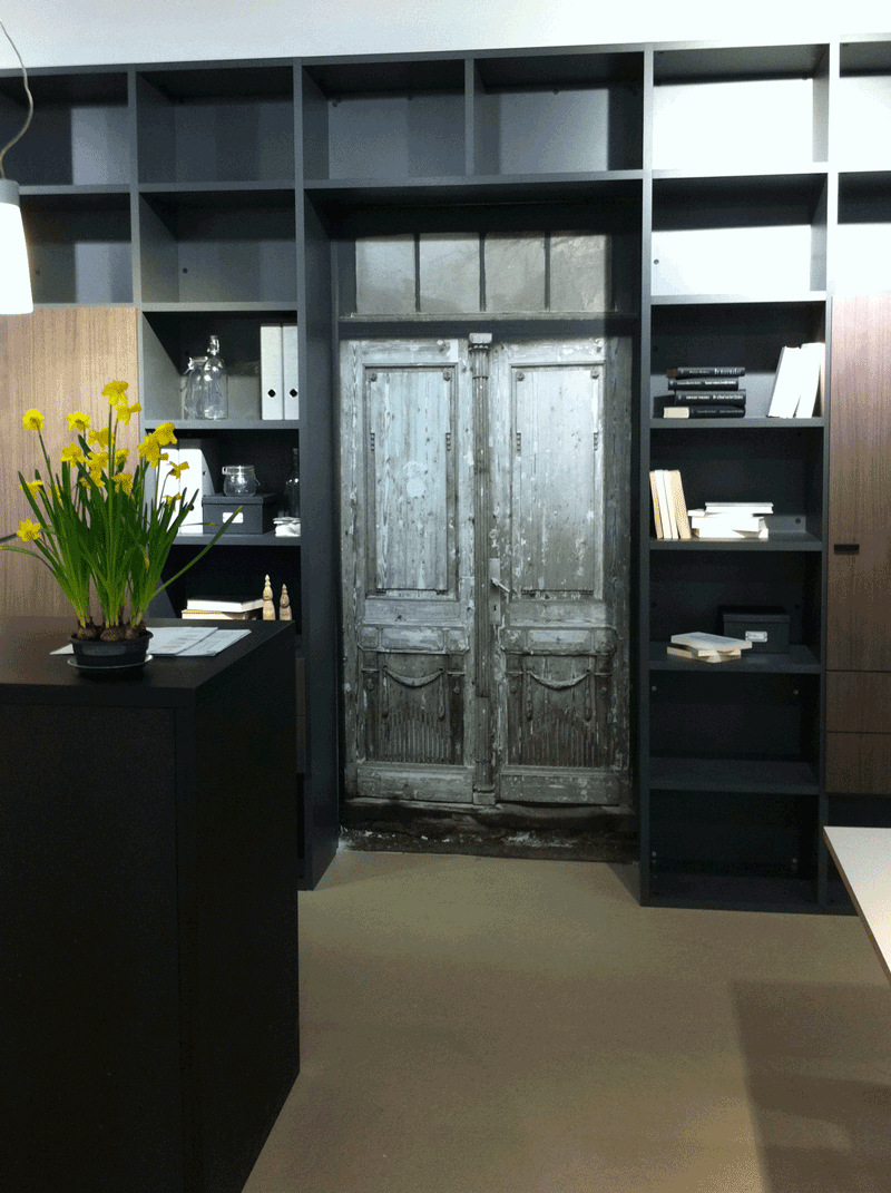 After the True Doors transformation at Lundia showrooms in the Netherlands