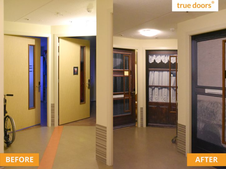 Before and after at Activite, in The Netherlands