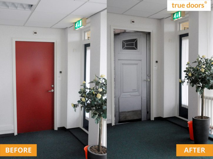 Before and after at Hof en Hiem in The Netherlands