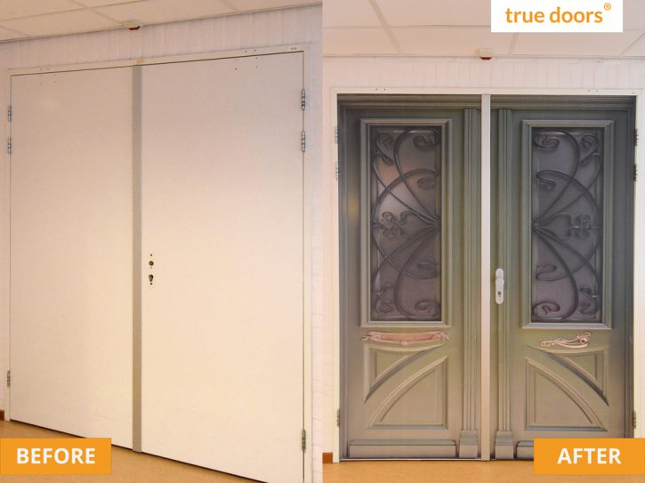 Before and after at Pieter van Foreest in The Netherlands
