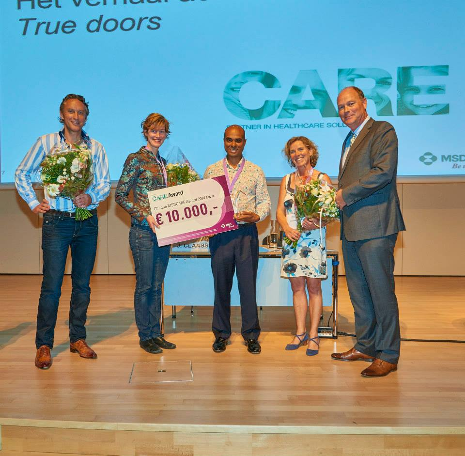 True Doors wint de MSD Care Award 2014