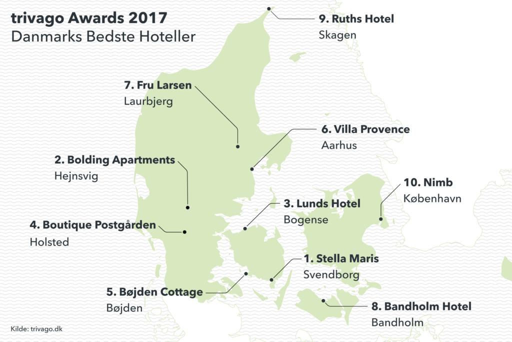 Danmarks Bedste Hoteller 2017