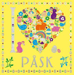 Bok I heart Påsk