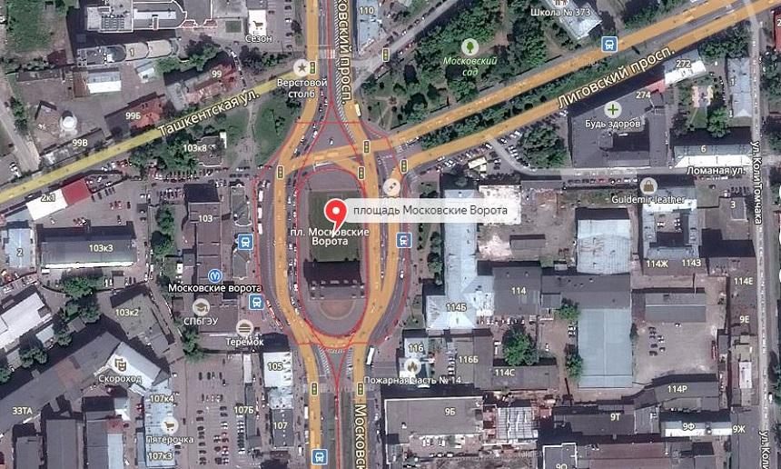 площадь Московские Ворота