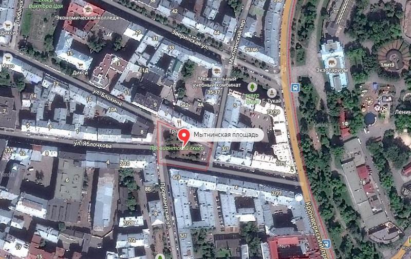 Мытнинская площадь