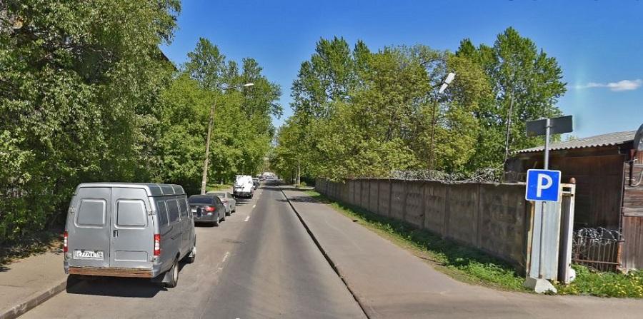Ольги Берггольц улица