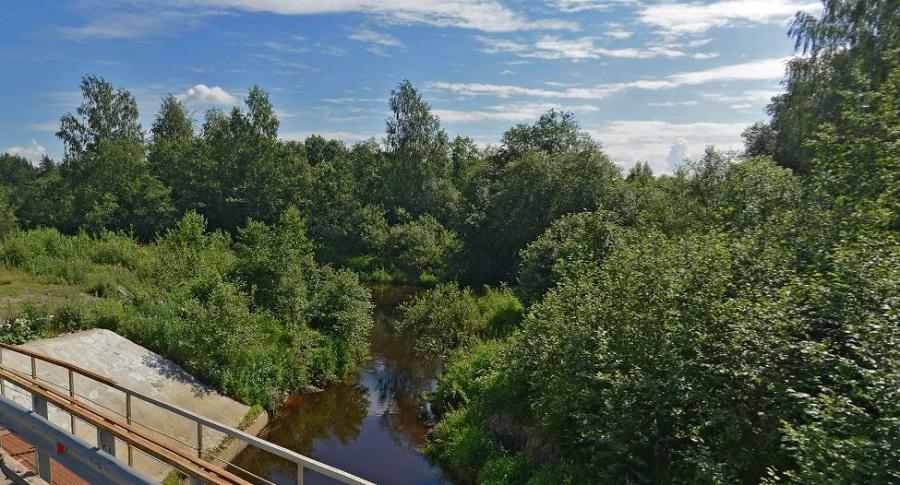 Охта река начало