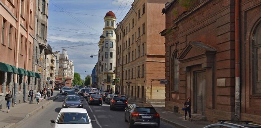 Попова Профессора улица