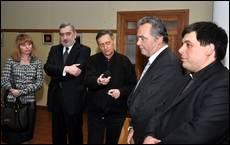 Посол Хорватії - на відкритті виставки в УКУ