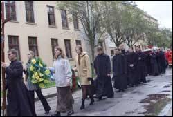 Похорон Станіслава Шендрика