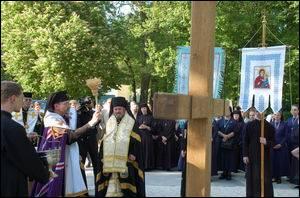 Посвячено хреста на місці побудови університетського містечка УКУ