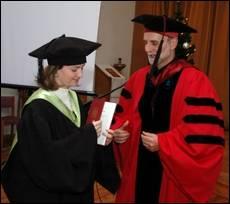 """УКУ привітав """"майстрів історичної науки"""" з отриманням дипломів"""