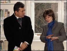 В УКУ побував з візитом Надзвичайний та Повноважний посол Італії в Україні