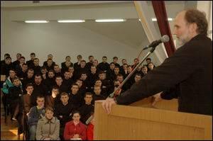 Ректор УКУ зустрівся зі студентами