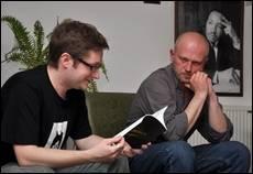Зустріч із Т. Прохаськом і О. Сливинським в УКУ