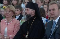 Катерина Ющенко відвідала УКУ
