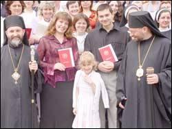 Вручення дипломів випускникам Катехитично-педагогічного інституту