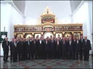 Посвячення іконостасу храму Львівської духовної семінарії