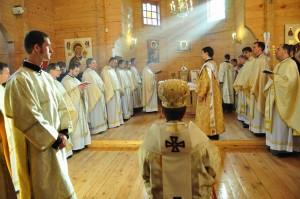 Архиєрейська Літургія у Церкві Блаженних новомучеників УГКЦ