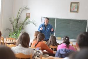 Юрій Мончак на запрошення Інституту розвитку особистості прочитав для студентів гуманітарного факультету лекцію англійською мовою