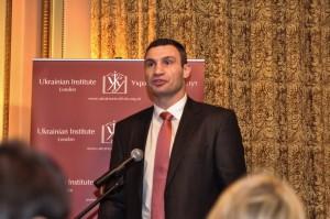 Віталій Кличко на зустрічі в Українському інституті в Лондоні