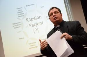 о. д-р Ян Клімек розповідає про спеціфіку праці капелана у спільноті хворих та осіб з розумовими розладами