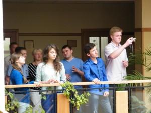 Учасники Дня відкритих дверей УКУ