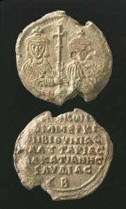 Візантійські печатки, які досліджує проф. Вернер Зайбт