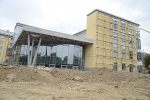 Новий академічний корпус  уже на завершальній стадії будівництва