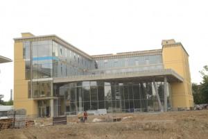 Новий навчальний корпус УКУ вже на стадії завершення. А вже з вересня тут навчатимуться майбутні історики