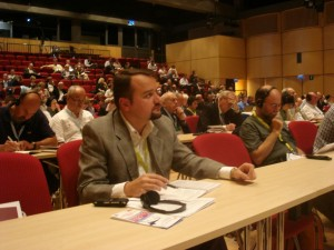 Декан філософсько-богословського факультету д-н Роман Завійський серед учасників конгресу