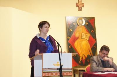 Одним з доповідачів на конференції була директор Інституту історії Церкви Світлана Гуркіна
