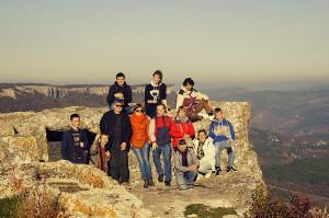 На вершині Мангупського плато