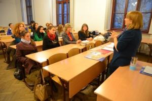 Учасниками майстер-класу стали студенти УКУ та Педагогічного коледжу
