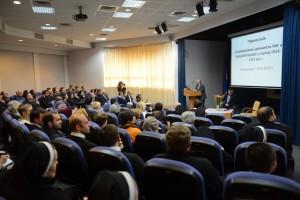 Першу доповідь на конференції виголосив Олег Турій