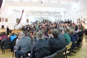 На зустріч з президентом УКУ прийшли викладачі, працівники та студенти Університету