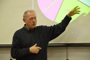 О. Арнальдо Панґрацці вже вп'яте приїздить читати лекції у Школі біоетики УКУ