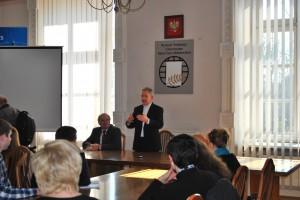 Ректор УКУ о. Богдан Прах на зустрічі зі студентами