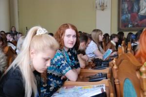 Вже традиційним для учасників акції стала зустріч з міським головою Львова Андрієм Садовим. У Великій сесійній залі Львівської міської ради