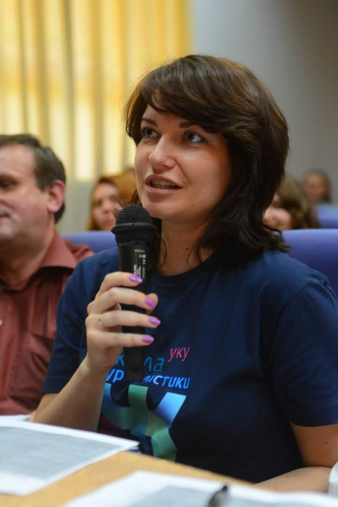 Медіамама УКУ Марія Титаренко
