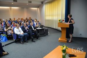 Декан LvBS Софія Опацька вважає, що жінкам слід об'єднуватися для досягнення більших результатів