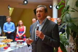 Випускників LvBS привітав Павло Шеремета, міністр економічного розвитку і торгівлі України та Голова Дорадчої Ради LvBS