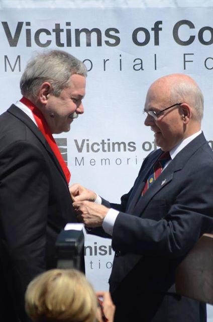 Мирослав Маринович отримує медаль Свободи ім. Трумена-Рейгана