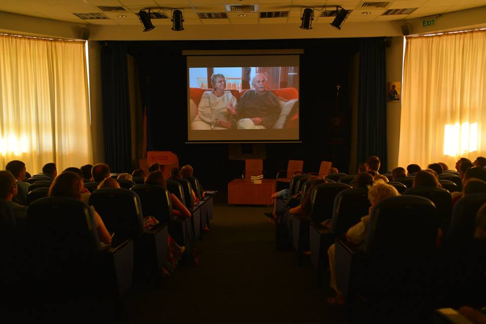Під час презентації фільму «Богдан Гаврилишин. Місія – Свобода»