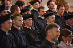 В очікуванні вручення дипломів
